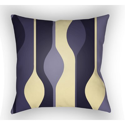 Wakefield Indoor Throw Pillow Color: Purple, Size: 22 H �x 22 W x 5 D