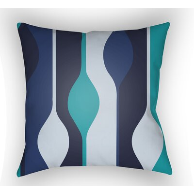 Wakefield Indoor Throw Pillow Size: 20 H x 20 W x 4 D, Color: Blue