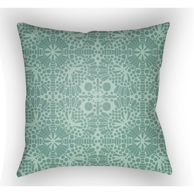 Zanuck Throw Pillow Size: 22 H �x 22 W x 5 D, Color: Jade