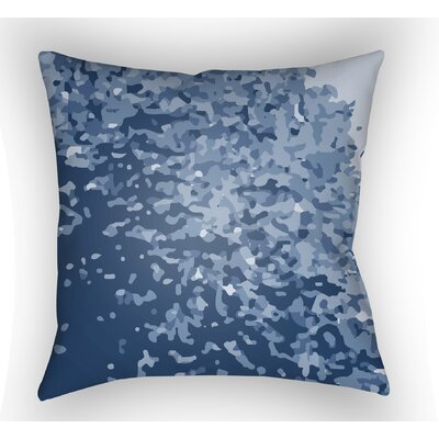 Konnor Sky Blue Throw Pillow Color: Grey, Size: 22 H x 22 W x 5 D