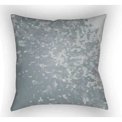 Konnor Sky Blue Throw Pillow Size: 20 H x 20 W x 4 D, Color: Grey