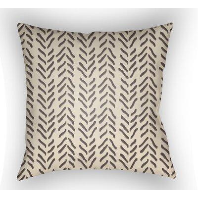 Broadbent Indoor Throw Pillow Size: 20 H x 20 W x 3.5 D, Color: Orange