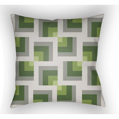 Wakefield Square Indoor Throw Pillow Size: 20 H x 20 W x 5 D, Color: Grey/Green