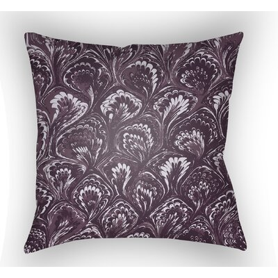 Maidstone Throw Pillow Size: 18 H x 18 W x 4 D, Color: Purple
