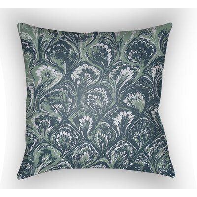Maidstone Throw Pillow Size: 18 H x 18 W x 4 D, Color: Teal