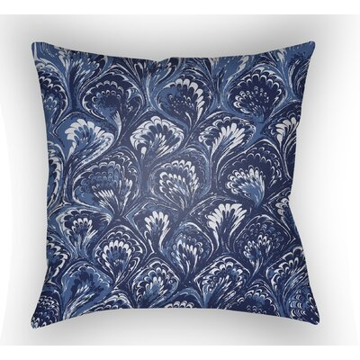 Maidstone Throw Pillow Size: 22 H�x 22 W x 5 D, Color: Blue