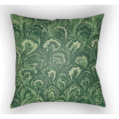 Maidstone Throw Pillow Color: Green, Size: 22 H�x 22 W x 5 D