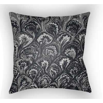 Maidstone Throw Pillow Size: 22 H�x 22 W x 5 D, Color: Black