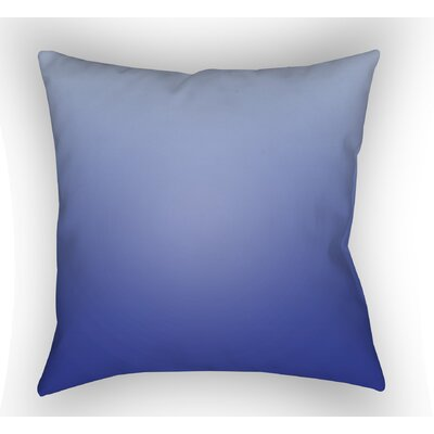 Calila Indoor Throw Pillow Color: Dark Blue, Size: 20 H x 20 W x 5 D