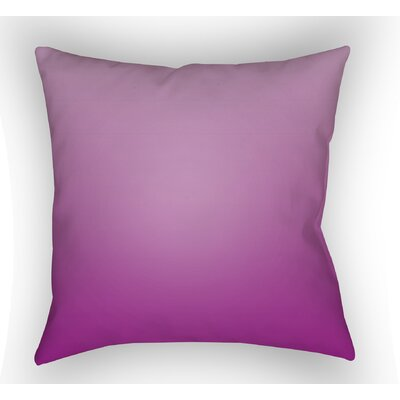 Calila Indoor Throw Pillow Size: 18 H x 18 W x 4 D, Color: Magenta