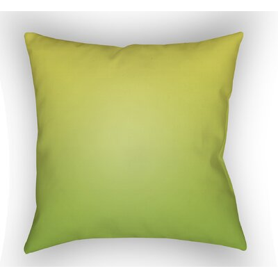 Calila Indoor Throw Pillow Size: 20 H x 20 W x 5 D, Color: Lime