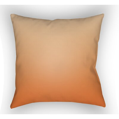 Calila Indoor Throw Pillow Size: 18 H x 18 W x 4 D, Color: Orange