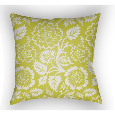 Winston Throw Pillow Size: 20 H x 20 W x 4 D, Color: Lime