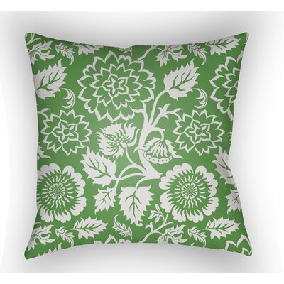 Winston Throw Pillow Color: Green, Size: 22 H �x 22 W x 5 D