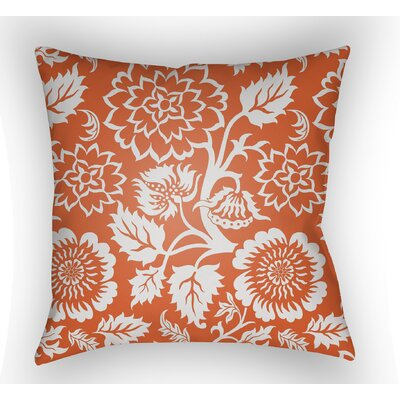 Winston Throw Pillow Size: 20 H x 20 W x 4 D, Color: Orange