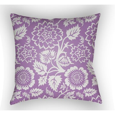 Winston Throw Pillow Size: 20 H x 20 W x 4 D, Color: Purple
