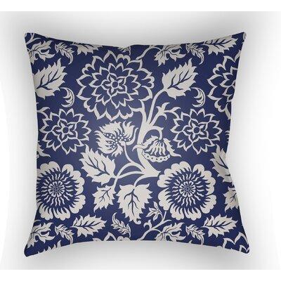 Winston Throw Pillow Color: Indigo, Size: 22 H �x 22 W x 5 D