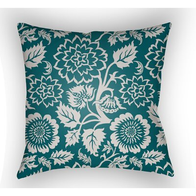 Winston Throw Pillow Size: 18 H x 18 W x 4 D, Color: Teal