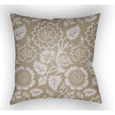 Winston Throw Pillow Size: 18 H x 18 W x 4 D, Color: Tan
