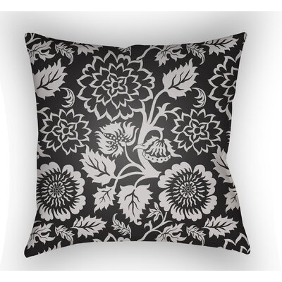 Winston Throw Pillow Color: Black, Size: 22 H �x 22 W x 5 D