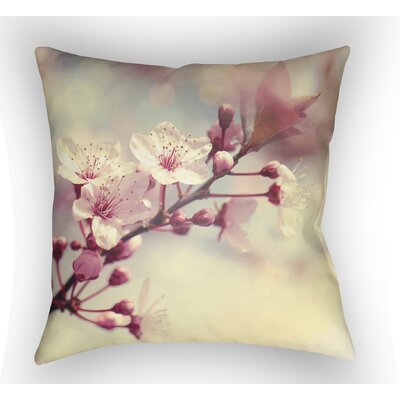 Roderick Throw Pillow Size: 18 H x 18 W x 4 D, Color: Yellow
