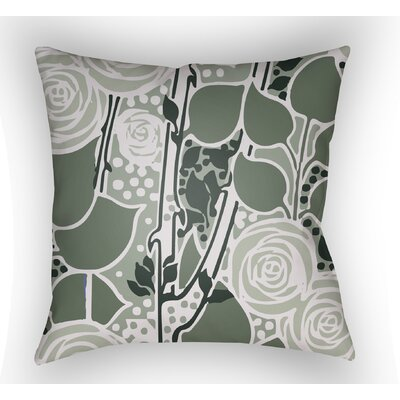 Capron Throw Pillow Size: 22 H x 22 W x 5 D, Color: Sage Green