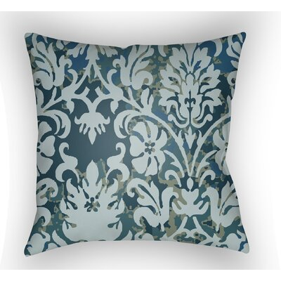 Amiyah Throw Pillow Color: Light Blue, Size: 22 H x 22 W x 5 D