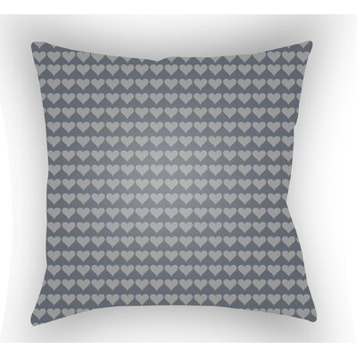 Colinda Square Throw Pillow Color: Grey, Size: 22 H �x 22 W x 5 D