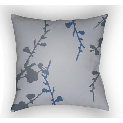 Teena Indoor Throw Pillow Color: Grey/Blue, Size: 22 H �x 22 W x 5 D
