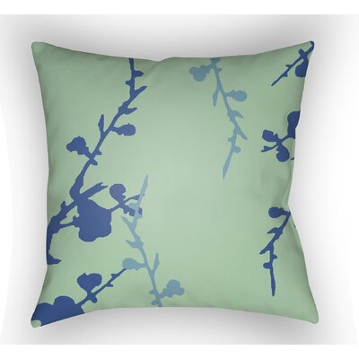 Teena Indoor Throw Pillow Color: Mint/Blue, Size: 22 H �x 22 W x 5 D