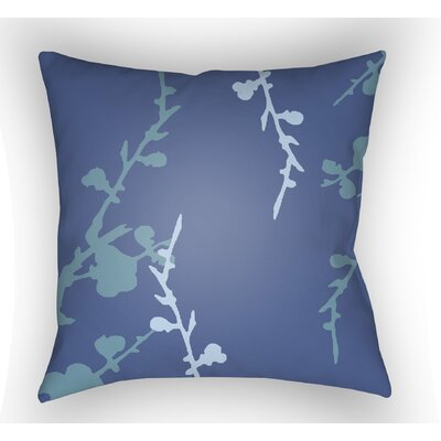Teena Indoor Throw Pillow Size: 20 H x 20 W x 4 D, Color: Blue/Turquoise