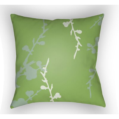Teena Indoor Throw Pillow Size: 20 H x 20 W x 4 D, Color: Green/Grey