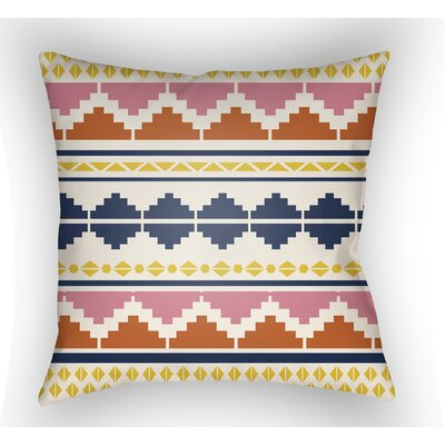 Colinda Geometric Motif Throw Pillow Size: 18 H x 18 W x 4 D