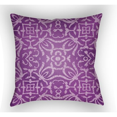 Libchava Indoor Throw Pillow Color: Magenta, Size: 22 H �x 22 W x 5 D