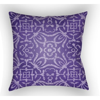Libchava Indoor Throw Pillow Size: 18 H x 18 W x 4 D, Color: Purple