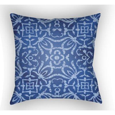 Libchava Indoor Throw Pillow Size: 18 H x 18 W x 4 D, Color: Indigo