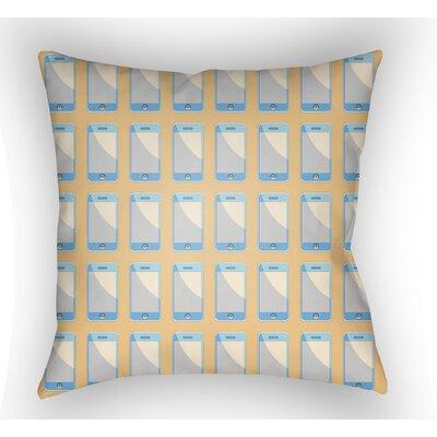 Cassidy Geometric Throw Pillow Size: 18 H x 18 W x 4 D, Color: Sherbert