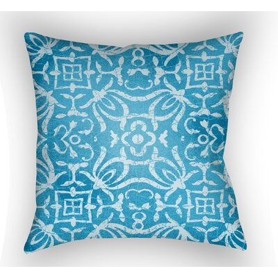 Libchava Indoor Throw Pillow Color: Blue, Size: 20 H x 20 W x 4 D