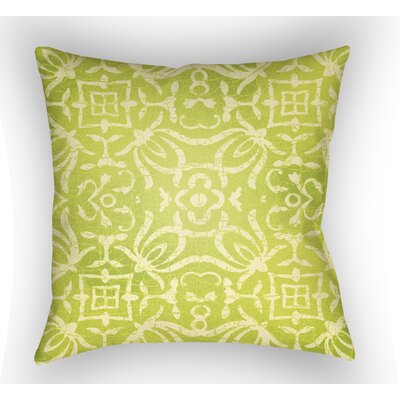 Libchava Indoor Throw Pillow Color: Lime, Size: 22