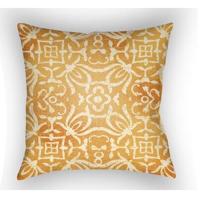 Libchava Indoor Throw Pillow Size: 20 H x 20 W x 4 D, Color: Sherbert