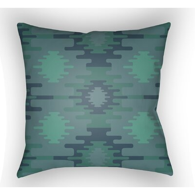 Adamson Square Throw Pillow Color: Green, Size: 20 H x 20 W x 3.5 D