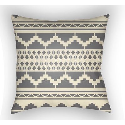Adamson Geometric Throw Pillow Size: 20 H x 20 W x 3.5 D, Color: Gray