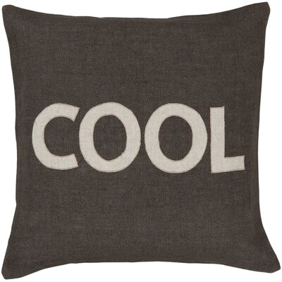 Allensbyly Cool Jute Throw Pillow Size: 22 H x 18 W, Filler: Down