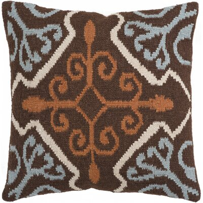 Manhasset Diamond Throw Pillow Size: 18, Fill Material: Polyester