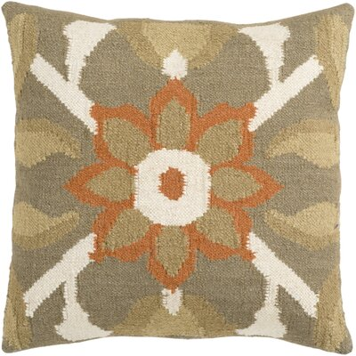 Sennett Throw Pillow Size: 18 H x 18 W x 4 D, Filler: Polyester