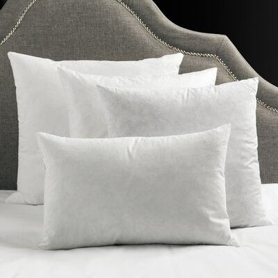 Polyfill Pillow Size: 18 H x 18 W x 4 D