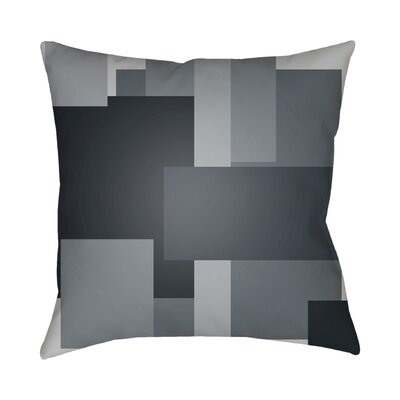 Wakefield Contemporary Geometric Throw Pillow Color: Grey, Size: 22 H �x 22 W x 5 D