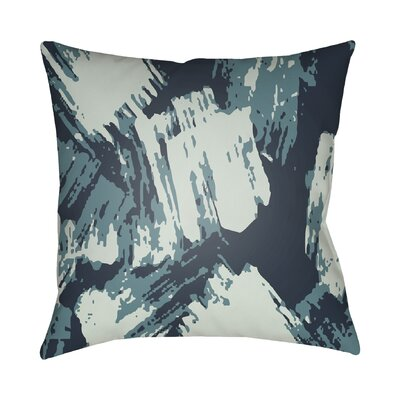 Konnor Indoor Throw Pillow Color: Blue, Size: 22 H x 22 W x 5 D
