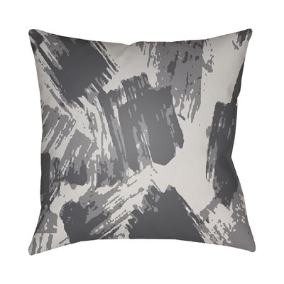 Konnor Indoor Throw Pillow Size: 18 H x 18 W x 4 D, Color: Grey