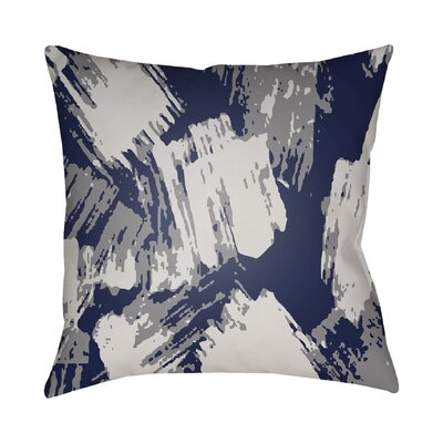 Konnor Indoor Throw Pillow Color: Indigo, Size: 22 H x 22 W x 5 D